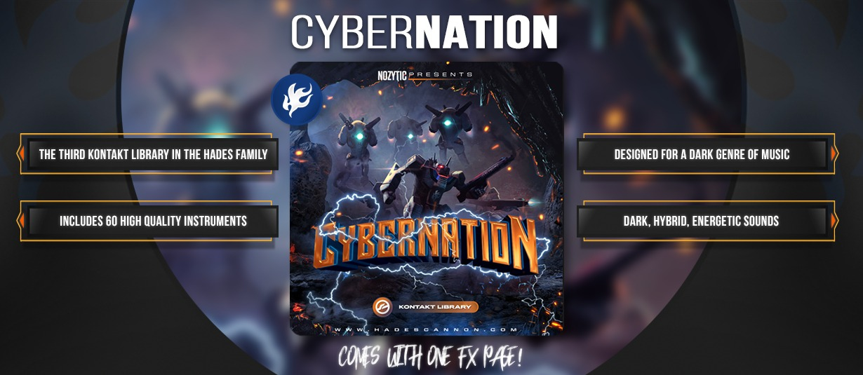 CyberNation (Kontakt Library)