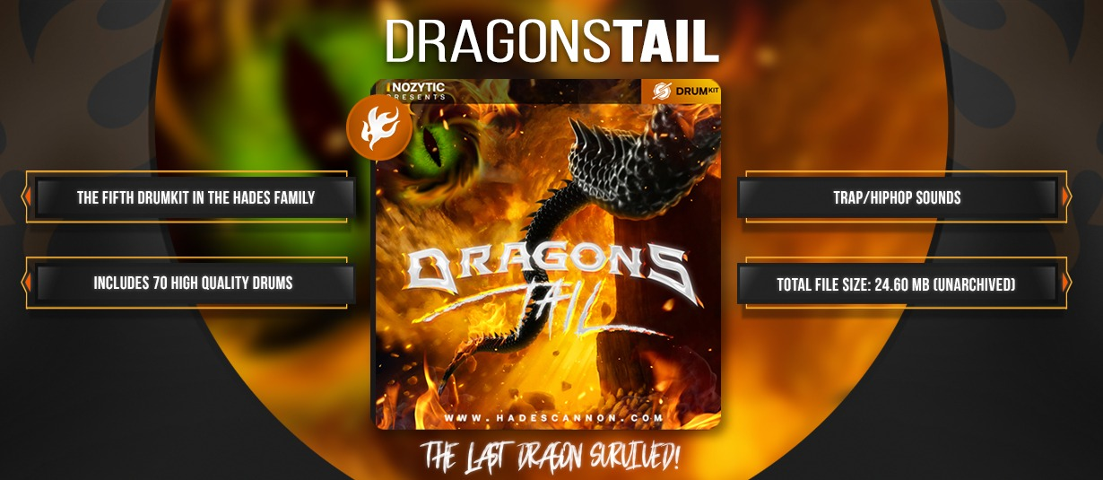Dragons Tail (Drum Kit)